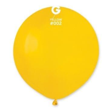 Balões latex 19'' cor Yellow # 2 - G15