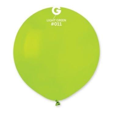 Balões latex 19'' cor Light Green #11 - G15