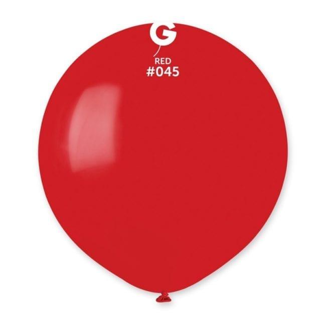 Balões latex 19'' cor Red #45 - G15