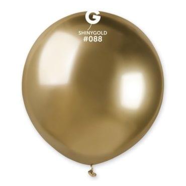 Balões latex 19'' cor Shiny Gold # 88 - GB15