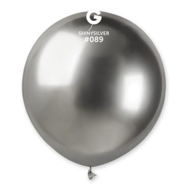 Balões latex 19'' cor Shiny Silver # 88 - GB15