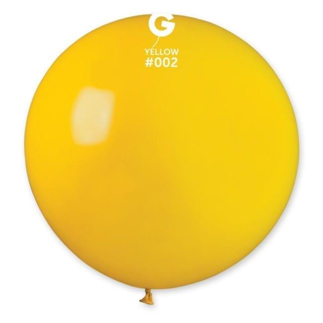 Balões latex 4 '' cor Yellow # 2 - G4