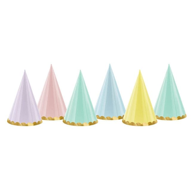 Chapéus de Festa Yummy Cores Pastel