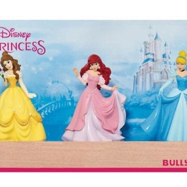 Blister 3 Peças Princesas Disney