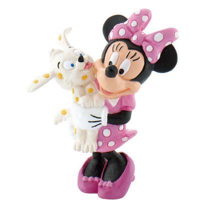 Minnie com cão