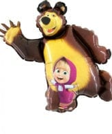 """Balão Shape Masha e o Urso 42"""""""