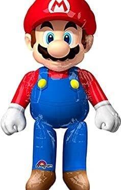 Balão Foil Airwalker XL Super Mario