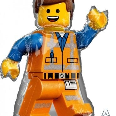 Balão Foil  SuperShape Lego Movie