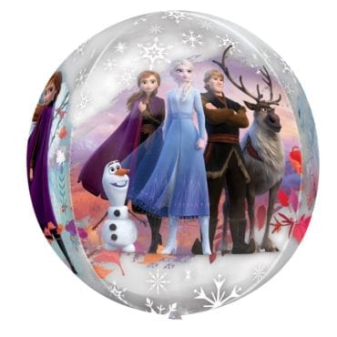 Balão Foil Orbz Frozen II