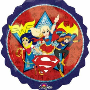 Balão Foil  SuperShape DC Super Hero Girls