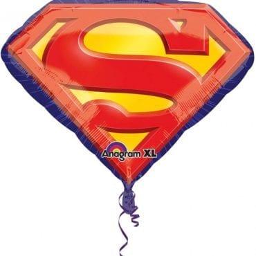 Balão Foil SuperShape Super Homem Emblema