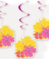 Espirais com flores