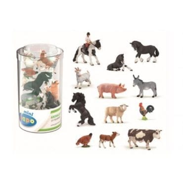 Mini Plus Animais Quinta (Tubo 12pcs)