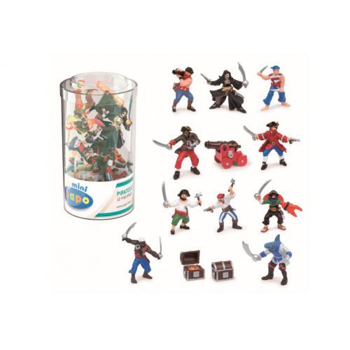 Mini PLUS Piratas e Corsários (Tubo 12p)
