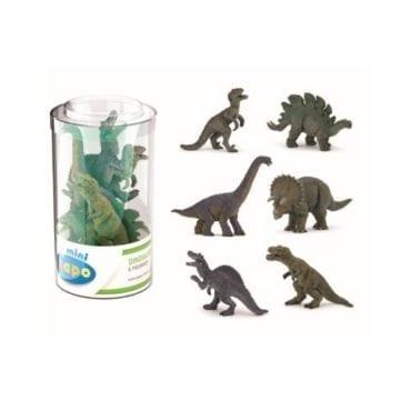 Mini PLUS Dinossauros Sortidos 1 (Tubo 6p)
