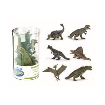 Mini PLUS Dinossauros Sortidos 2 (Tubo 6p)