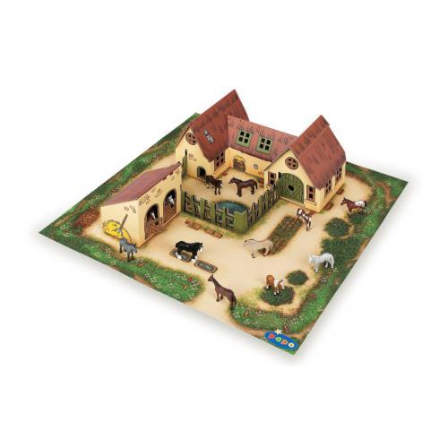 Mini Fazenda e Estábulo (Cartão)