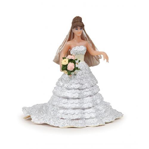 Noiva c/ Vestido de Renda Branco