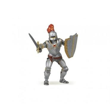 Cavaleiro de Armadura e Penas Vermelhas