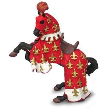 Cavalo do Príncipe Filipe Vermelho