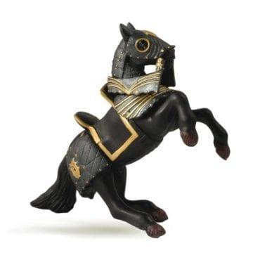 Cavalo do Cavaleiro de Armadura Negra