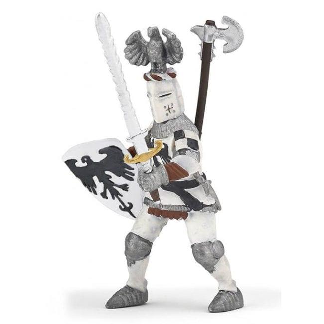 Cavaleiro Branco c/ Crista de Águia