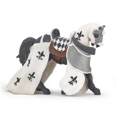 Cavalo Branco Drapeado