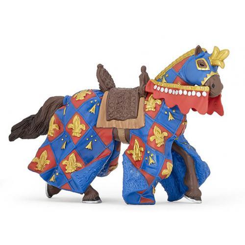 Cavalo Flor de Lis Azul