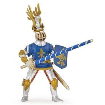 Cavaleiro Flor de Lis Azul