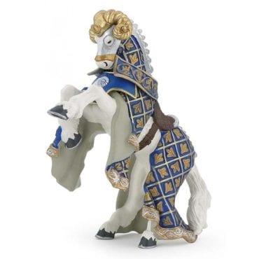 Cavalo do Mestre de Armas Carneiro Azul