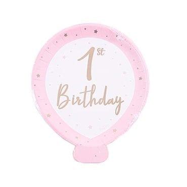 Prato Balão 1st Birthday