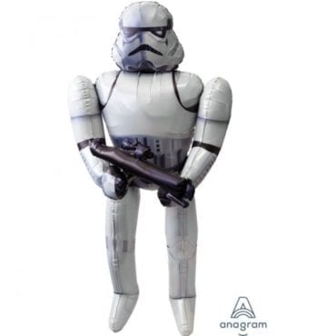 Balão Foil Airwalker Star Wars - Storm Trooper