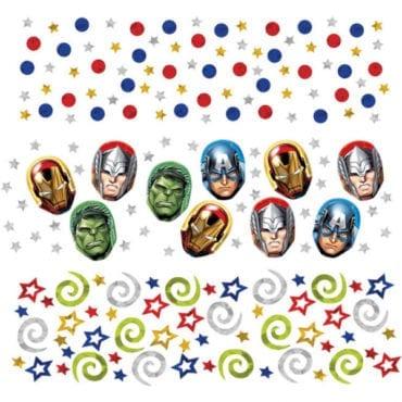 Confetti dos Vingadores