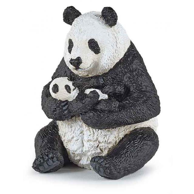 Panda Sentado c/ Cria