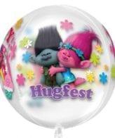 Balão Foil Orbz Clear Trolls