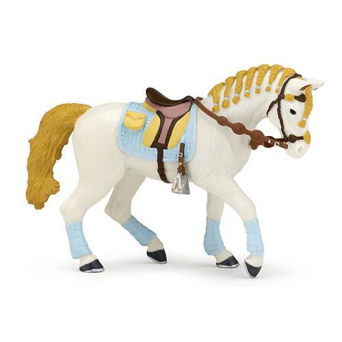 Cavalo da Cavaleira de Azul