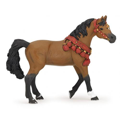 Cavalo Árabe Enfeitado
