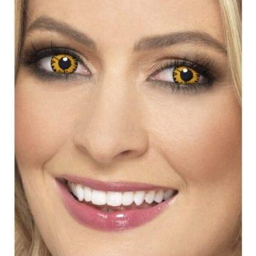 Lentes de contacto Crepúsculo Amarelo