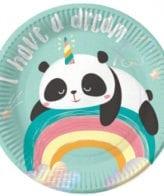 Pratos Panda Dreamy