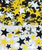 Confetti de Estrelas Ouro e Prata