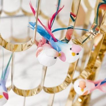 Passarinhos decorativos