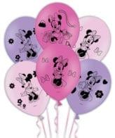 Balões da Minnie Bow-tique em latex