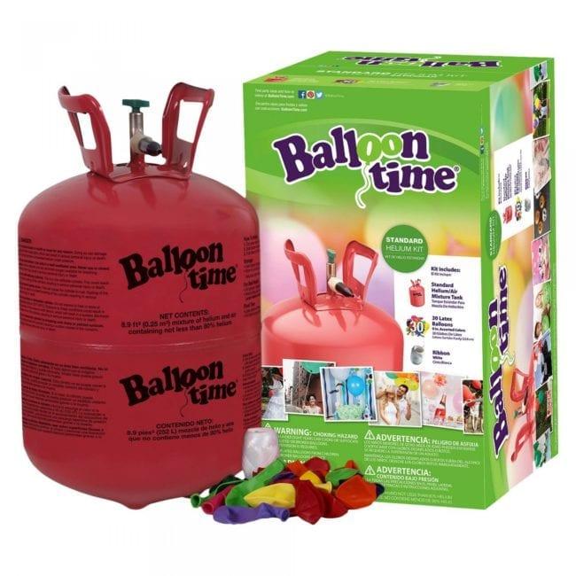 BalloonTime - Kit descartável de balões a Hélio