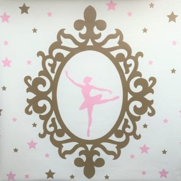 Poster Decorativo Bailarina