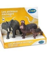 Display Animais Selvagens 2 (3 fig.)