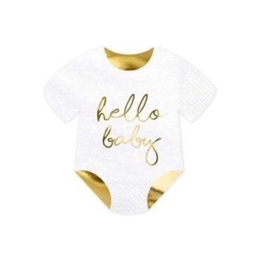 Guardanapos Hello Baby