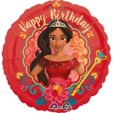 Balão Foil  Happy Birthday  Elena de Avalor
