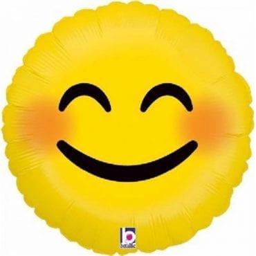 Balão Foil  Emoji Smiley
