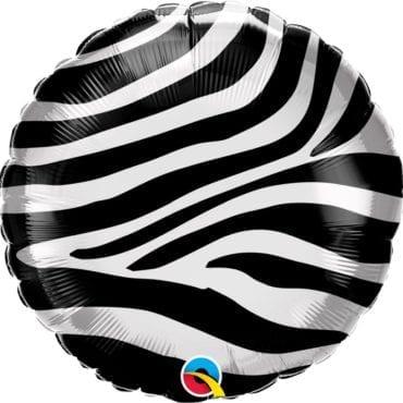 Balão Estampado Zebra