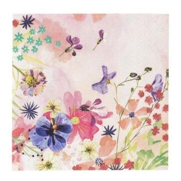 Guardanapos Aquarela Floral